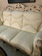 Matching Leather Sofa Loveseat And Chair