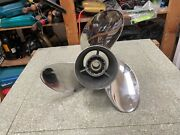 Yamaha Outboard 16 3/8 X 21 Xto Left Hand Propeller 21p P6gs-45976-10-00