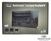 New - Open Box - Adesso Ack-730ub Easytouch Keyboard Usb Wired Black Rackmount