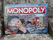 Monopoly For Sore Losers Bnwt Hasboro Gaming