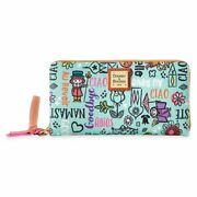 Its A Small World Wallet Disney Dooney And Bourke Brand New In Plastic Free Ship