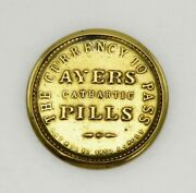 3 Cent Gold Civil War Stamp Ayers Cathartic Pills Full Mica Long Arrows