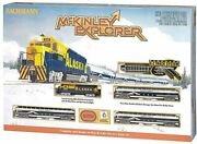 Bachmann Mckinley Explorer With E-z Track System N Scale Electric Train Set- New