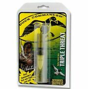 Duck Commander Classic Series Triple Threat Duck Call Polycarbonate Dccall2011