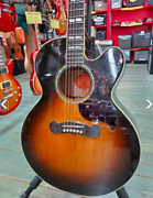 Gibson J-185 Ec Acoustic-electric Guitar Right-handed Hollow 2002 Model 6 String