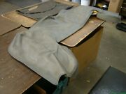 Nos Oe Ford 1983 1989 Mustang Convertible Top Boot Grey 1984 1985 1986 1987 1988