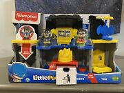 Fisher Price Little People Dc Batman And Robin Batcave Playset