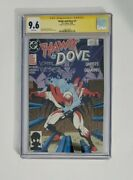 Hawk And Dove 1 Cgc 9.6 Signed By Karl Kessel First Dawn Granger Liefield Art