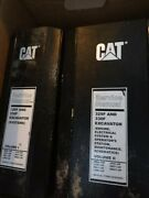 Cat 329f And 330f Service Manuals Volume One And Two