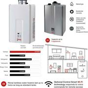 Rinnai Indoor Tankless Hot Water Heater / V94in/ Natural Gas / 9.8 Gpm