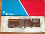 E And C Shops 1205-3 50and039 Hi Cube Double Door Boxcar Kit Southern Pacific Sp 228617
