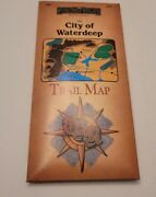 Tsr Forgotten Realms City Of Waterdeep Trail Map Nm
