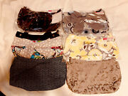 Thirty-one Suite Skirt Purse With 6 Skirts Lot Interchangeable