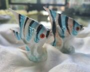 Salt And Pepper Shakers Vintage From Japan Small Tropical Fishandnbsp