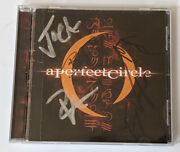A Perfect Circle Mer De Noms Cd Autographed Signed By 5 In Band 2000