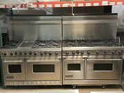 """Viking Range 30"""" 48"""" 60"""" Grill Griddle Gas Dual Fuel Stainless Island Wall Shelf"""