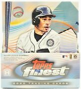 2020 Topps Finest Baseball Sealed Hobby Box 2 Autos With Free Shipping