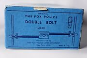 Nos Original Made In Usa The Fox Police Lock 40 To 44