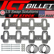 Ls Cathedral Port Cylinder Head To Rectangle Port Intake Manifold Adapters