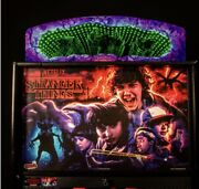 Stranger Things Pinball Topper. Stern Official Topper - Free Shipping