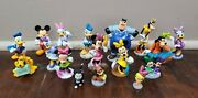 Disney Store Mickey Mouse Clubhouse Pvc Figure Toy Cake Topper Set