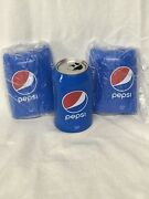 Hide A Beer Can Covers Silicone Beer Can Covers Hide/pepsi Blue Sleeve 3 Pack