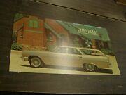 Oem Chevrolet 1964 Chevelle Station Wagon Dealership Display Picture Cardboard