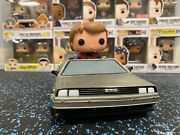 Marty Mcfly With Time Machine 02 Funko Pop Loose/no Box