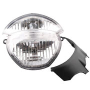 Front Headlight Headlamp Clear Lens Assembly Fit Ducati Monster 696 795 796 1100