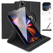 Rotating Multi-angle Viewing Folio Stand Case For Apple Ipad Pro 11 3rd Gen M1