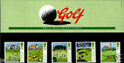 Royal Mail Mint Stamps Golf 1994 Presentation Pack Never Used 249 5.7.94