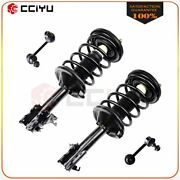 For Nissan Maxima 2002-2003 Front Left Right Complete Struts Stabilizer Sway Bar