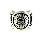 Alvin Taylor Ring Hopi People Indian Jewelry Sterling Silver Accessory Mens