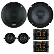 Pioneer Ts-z65ch Z-series 6-1/2 2-way Car Audio Component Speakers 6.5 New