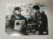 Jay And Silent Bob - Clerks - Autographed Signed 11x14 Photo Authentic Psa/dna