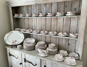 Vintage Copeland Spode Chelsea Garden Pattern Setting For 12 And Some