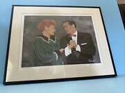 Linda Koast Signed Numbered Limited Ed. Lucy Ricky Original Lithograph Holo Coa
