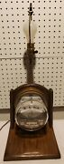 Rare / Vintage / Antique Electric Meter Table Lamp / Steampunk