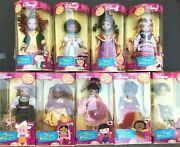 Itand039s A Small World Porcelain Doll Disney Lot 9 India Egypt Ireland Africa Mexico