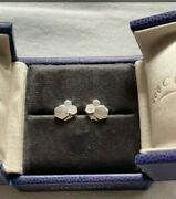 New Authentic Chaumet Bee My Love Earrings White Gold Diamond With Packaging
