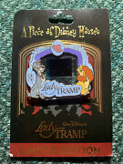 Disney Pin Lady And The Tramp Piece Of Movie Podm Frame Scene Film Le Pins Set