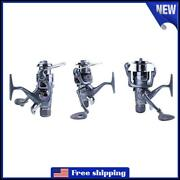 Fishing Reel Carp Spinning Reel Carbon Front And Rear Drags 3bb Metal Reel 3