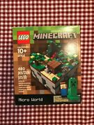 Lego Ideas 21102 Minecraft Micro World The Forest - New Factory Sealed Box