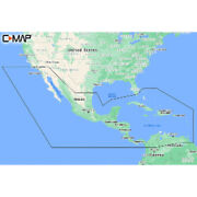 C-map M-na-y205-ms Central America Andamp Caribbean Reveal Coastal Chart