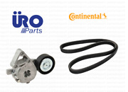Drive Belt + Tensioner Continental / Uro Parts For Vw Beetle / Golf / Jetta