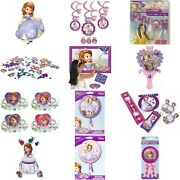 Disney Junior Sofia The First Kids Birthday Party Tableware Decorations Balloons