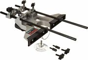 Bosch Deluxe Router Edge Guide With Dust Extraction Hood And Vacuum Hose Adapter