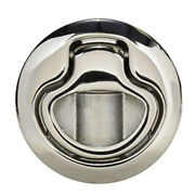Southco Flush Pull Latch Pull To Open - Non-locking - Polished Stainless Stee...