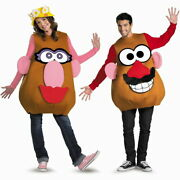 Potato Head Clothing Costume For Adults Toy Story Disney Mr. Or Mrs. Cosplay