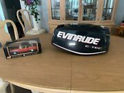 Evinrude Outboard 30hp Etec Motor Cowling Like New P0285823